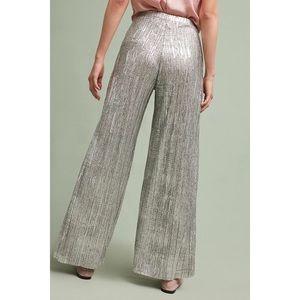 Silver Metallic Elevenses Pants